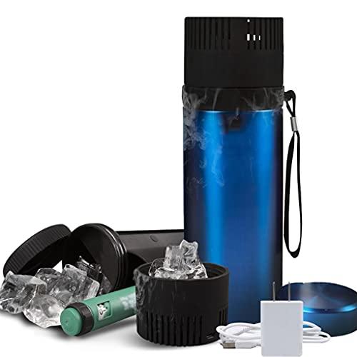 Yclty Estuche Portátil de Viaje para Refrigerador de Insulina Caja de Enfriamiento de Medicina 900ML Mini Taza Refrigerada con Interfaz USB