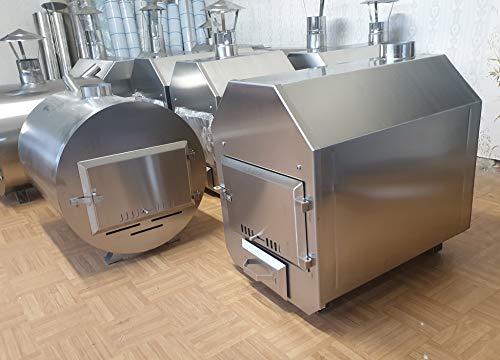 Heizung für Pool Schwimmbecken Badefass Poolheizung Badezuber 38 KW Edelstahl Ofen Koiteich