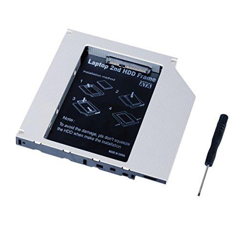 QUMOX Laptop secondo Hard Drive DVD Bay Caddy 12,7 millimetri SATA a SATA F ACER   ASUS   DELL   TOSHIBA