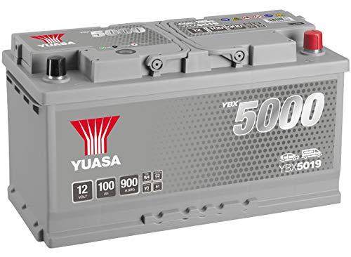 YUASA - BATTERIE YUASA YBX5019 SILVER 12V 100Ah 900A