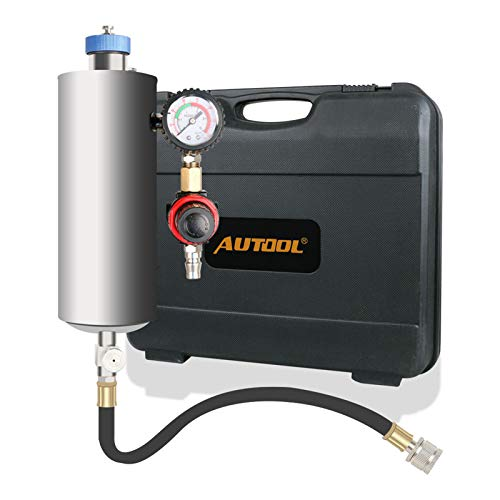 AUTOOL Universal Automotive Non-Dismantle Fuel Injector Tester and Cleaner CFS Series Fuel System for Petrol EFI Throttle Car 600ML Tank 140PSI