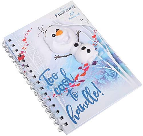 A5 Notizbuch Olaf Squeezer Tagebuch kompatibel zu Disney Frozen 2 Die Eiskönigin