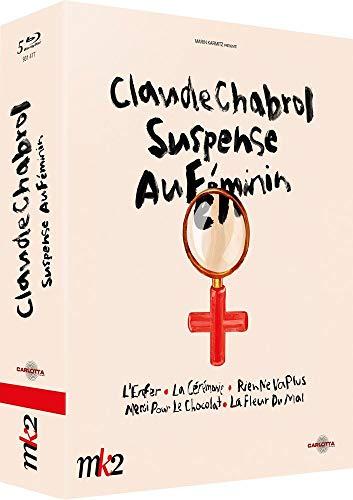 Coffret Claude Chabrol-Suspense au féminin : l'enfer + La Cérémonie + Rien ne va Plus + Merci pour Le Chocolat + La Fleur du Mal [Blu-Ray]