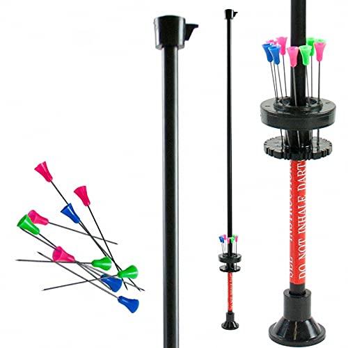 Strongbow Eco Blasrohr - 60 Zoll; voll funktionsfähiges Blasrohr mit Pfeilhalterung, Griffstück, Visierung und Mundstück; Darts für Sport; 12 Pfeile/Darts inkl.