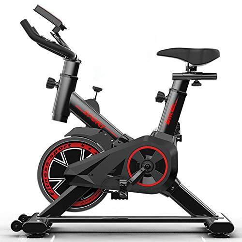 Professionele hometrainer, Home Fitness Bike voor gewichtsverlies, met LCD-monitor, Comfortabel zitkussen, Indoor Silent Fitnessapparatuur Indoor Fitness