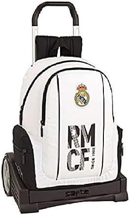 Real madrid cf Mochila con Carro Ruedas Evolution, Trolley.