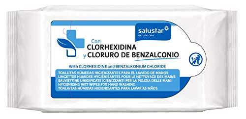SALUSTAR TOALLITAS HUMEDAS HIGIENIZANTES CLORHEXIDINA 10 UDS