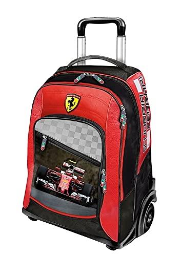 Ferrari Zaino Trolley Big Size F.C. Panini Scuola e Viaggio 49 x 32 x 26 cm