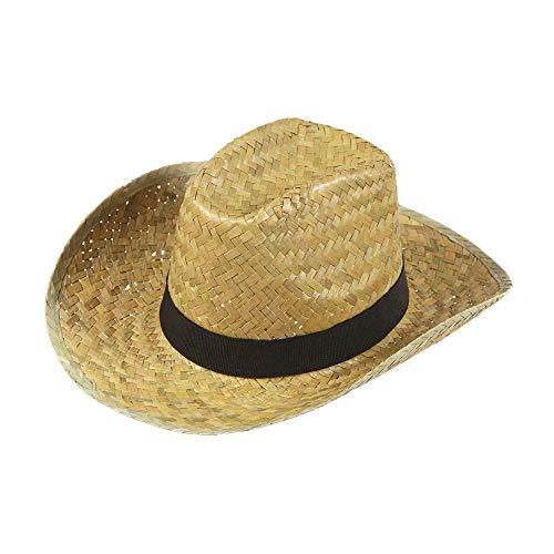 WIDMANN ?Sombrero de vaquero, modelo Texas, de paja. Código: 1425D