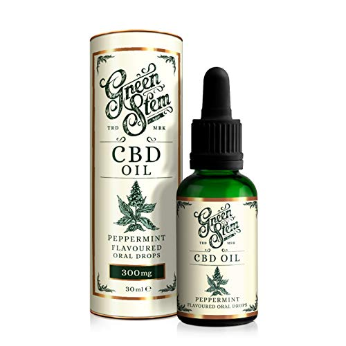 Green Stem Peppermint CBD Oil 300mg