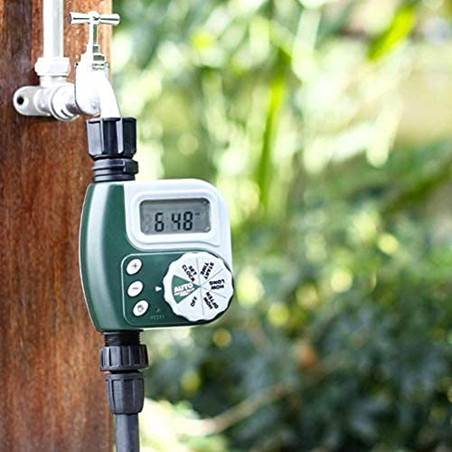 Regulador de riego de jardín Controlador de riego para el hogar Grifo de manguera de juego automático programable kit de riego por goteo..