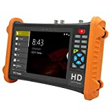 Test CCTV IP Professional 4-Inch Touch Screen H.265 / H.264 IP + Analog + 8MP AHD + 8MP CVI + 8MP TVIDC12 / 3A Input, Single Network Port, Does Not Support PoE Output CCTV Video Tester