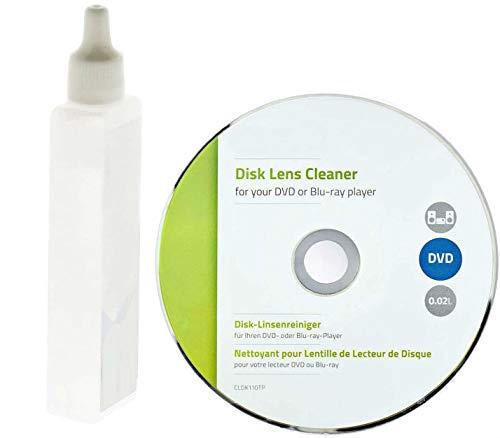 TronicXL Profi Linsenreiniger für DVD Blu-ray-Player Reinigungs DVD CD Laufwerk CD-ROM Linsen Reiniger Reinigung Reinigungsset
