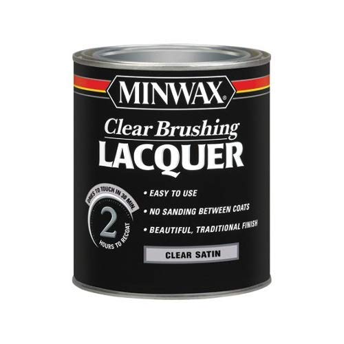 Minwax 15510 1 Quart Minwax� Clear Satin Brushing Lacquer Minnesota