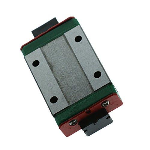 Miniatur MGN12H Linearführung Slide Block aus Stahl 12mm für 3D Drucker CNC, Klein, Leicht
