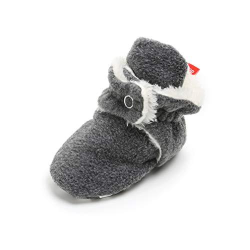 Kfnire Unisex Booties Kleinkind Baby Anti-Rutsch Sock Schuhe Stiefel,0-12 Monate,B 09