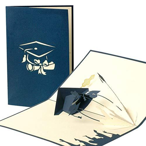 Graduation Karte, Examen, Glückwunsch, Geschenk, Bachelor, Master, Pop-Up Karte C11