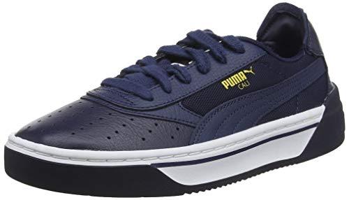 Puma Unisex-Erwachsene CALI-0 Sneaker, Blau (Peacoat-Puma White-Peacoat) , 39.5 EU