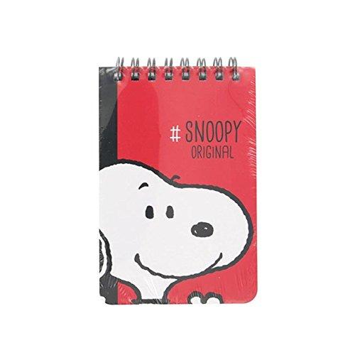 Cuaderno A7 SNOOPY Negro