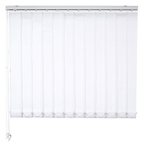 ROLLER Lamellenvorhang - weiß - 200x250 cm