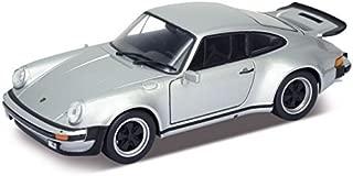 Welly 24043 1974 Porsche 911 Turbo 3.0 Silver 1/24 Diecast Model Car