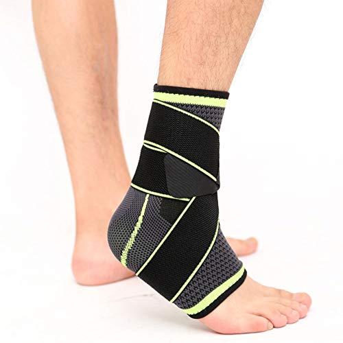 LNIMIKIY Tobillera de Apoyo, Correa Ajustable | Soporte de Brazo Izquierdo o Derecho | para la Artritis, tendinitis de Aquiles, talón de esguince, Lesiones de Gimnasio para Hombres y Mujeres