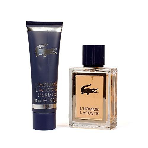 Lacoste L' Homme Set mit Shower Gel 50ml + 50ml