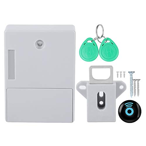 Cerradura electrónica RFID para armario, kit de instalación de cerradura