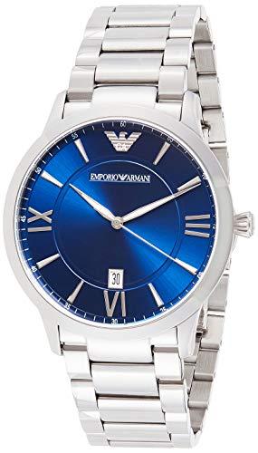 Emporio Armani Men's Analog Quartz Watch with Stainless Steel Strap AR11227