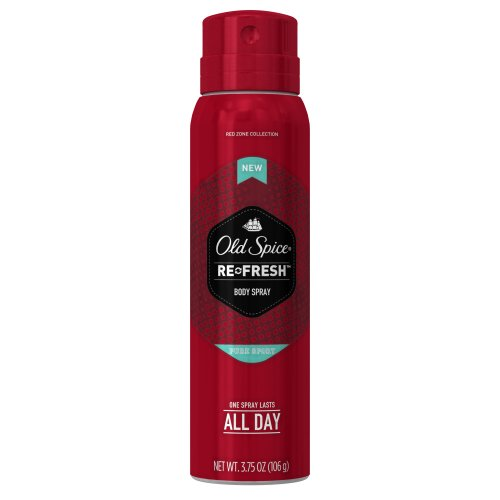 Old Spice Red Zone Pure Sport Men's Body Spray 3.75 Ounce