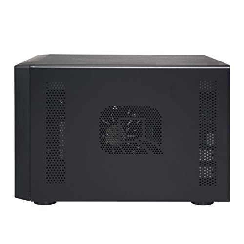 QNAP TS-832X-8G-US High-Performance 8-Bay 64-bit NAS with Built-in 2 x 10GbE (SFP+) Network, Hardware Encryption, Quad Core 1.7GHz, 8GB RAM, 2 x 1GbE