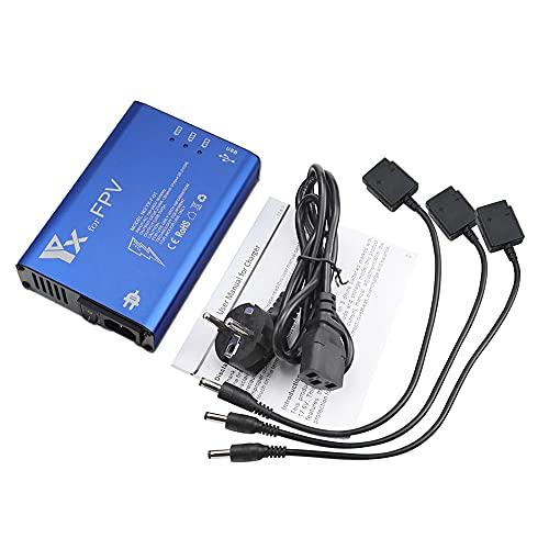 Taoke Battery Balance Charger compatibile con DJI FPV Combo, caricabatteria di volo multiplo per batteria combo FPV e telecomando