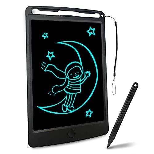 Richgv Tabletas gráficas para niños, Tableta de Escritura LCD de 8,5 Pulgadas, Pizarras magneticas Infantiles, Regalo para niños, Adultos, Oficina (Negro)