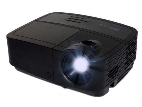 InFocus IN2124a XGA 4:3 3D DLP-Projektor Beamer (Wireless-LAN, 3500 ANSI Lumen, 15000:1 Kontrast, , LAN / RJ45 Netzanschluss, 2GB Speicher)