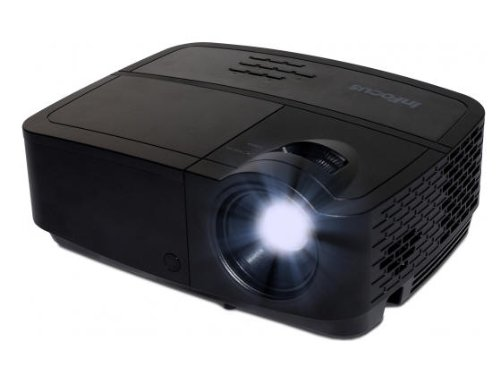 InFocus IN2124a XGA 4:3 3D DLP-projector beamer (Wireless LAN, 3500 ANSI lumen, 15000:1 contrast, LAN / RJ45 netaansluiting, 2 GB geheugen)