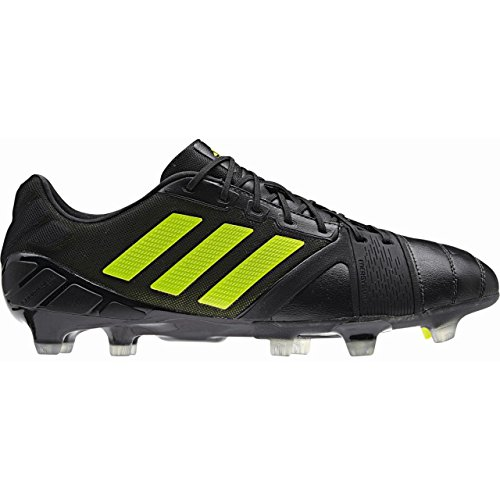 Adidas Schuhe Nockenschuhe nitrocharge 1.0 FG Nockenschuhe black1/solsl, Größe Adidas:6.5