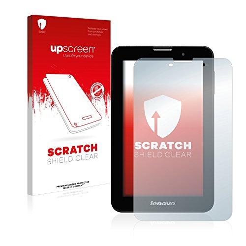upscreen Protector Pantalla Compatible con Lenovo IdeaTab A3000-H Película Protectora – Transparente, Anti-Huellas