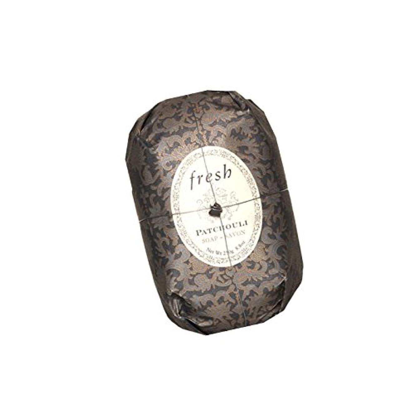 観光暗唱する複合Fresh フレッシュ Patchouli Soap 石鹸, 250g/8.8oz. [海外直送品] [並行輸入品]