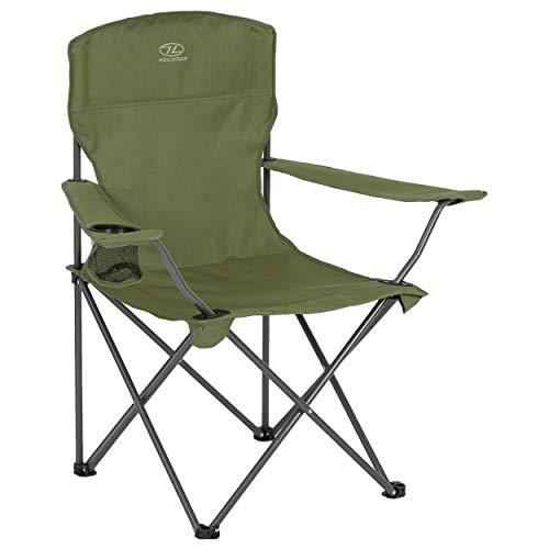 HIGHLANDER Highlander folding camping chair -...