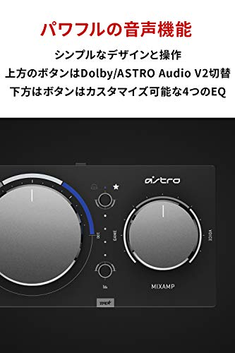 ASTROGamingアストロミックスアンププロPS5PS4PCSwitchMixAmpProTRゲーミングヘッドセット用DolbyAudioサラウンド光デジタル端子USBMAPTR-002国内正規品