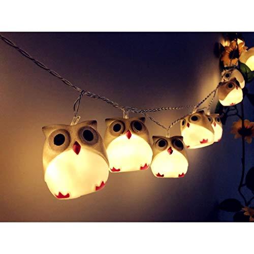 Tomasa- LED Lichterketten Eule Lights Lichterketten für Halloween Party Weihnachten Dekoration Spezial- & Stimmungsbeleuchtung