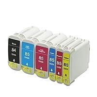 For HP 84用の互換性のあるインクカートリッジ、HP Designjet 10PS 130 130 GP 130 R 130 Rプリンタ、強い互換性 1 set