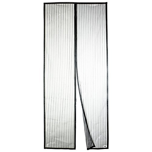 Preisvergleich Produktbild Apalus Magnet Fliegengitter Tür Insektenschutz 120x220cm,  Der Magnetvorhang ist Ideal für die Balkontür,  Kellertür Und Terrassentür,  Kinderleichte Klebemontage Ohne Bohren (Nicht Kürzbar)