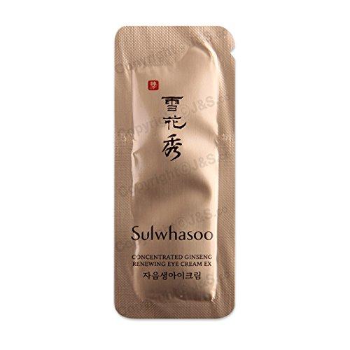 Sulwhasoo Lot de 30 crèmes contour des yeux concentrées au ginseng EX 1 ml