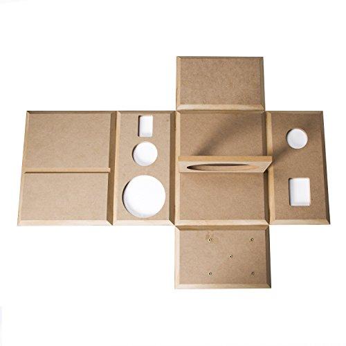 HiVi - DIY 3.1A - 3.1 Bookshelf Speakers - Near-Field Speakers - DIY Speaker Kit - Pair - Black