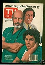 TV Guide June 13-19, 1981 (Pernell Roberts and Cast of Trapper John MD; Stephen King on Tots, Terror and TV, Volume 29, No. 24, Issue #1472)