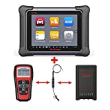 Autel Maxisys Elite+TS401+MV105 –Diagnostic Tool with ECU Coding & Programming TPMS Diagnostics & Service and Inspection Video Scope with 2 Years Free Update