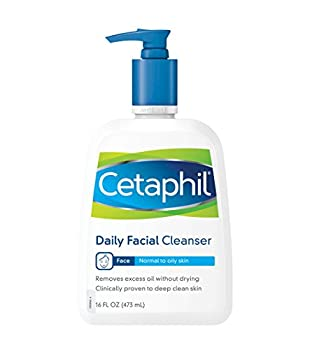 Cetaphil Daily Facial Cleanser for normal to oily skin 16 Ounce Bottles  Pack of 3