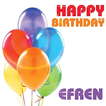 Happy Birthday Efren