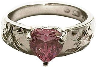 夏威夷珠宝 直接进口夏威夷 项链 吊坠 无链 925银、粉红碧玺